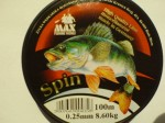 Żyłka SPIN LINE 0,25mm 8,60kg 100m made in Germany !