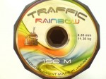 Żyłka uniwersalna 0,35mm tęczówka TRAFFIC RAINBOW 11,30kg 150m made in Japan !