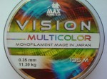 Żyłka uniwersalna 0,35mm tęczówka VISION MULTICOLOR 11,30kg 135m made in Japan !